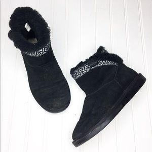 Minnetonka | Leather & Sheepskin Boots
